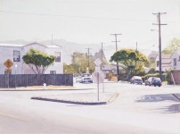 ROBERT BECHTLE : BERKELEY INTERSECTION-ROSE, CURTIS, HOPKIN