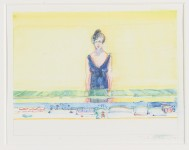 WAYNE THIEBAUD : COUNTER LADY