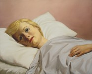 JOHN CURRIN : GIRL IN BED