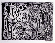 A.R.PENCK : ERSTE KONZENTRARION, MAPPE II, MUNICH, MAXIMILIAN VERLAG, 1982