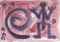 A.R.PENCK : OHNE TITEL