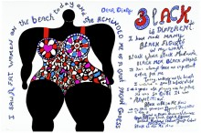 NIKI DE SAINT PHALLE : CALIFORNIA DIARY(BLACK IS DIFFERENT)