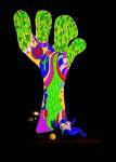 NIKI DE SAINT PHALLE : ARBRE DE LA LIBERTE(BOSIO)(TREE OF LIBERTY)