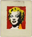 RICHARD PETTIBONE : ANDY WARHOL, MARILYN, 1978