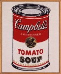 RICHARD PETTIBONE : ANDY WARHOL, SOUP CAN, 1963
