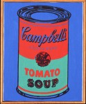 RICHARD PETTIBONE : ANDY WARHOL SOUP CAN, 1965