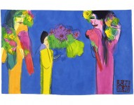 WALASSE TING : BRING IN THE FLOWERS