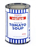 BANKSY : TESCO VALUE SOUP CAN