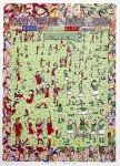 JAMES RIZZI : A FUN TIME TO BE A FAN(BASIC), 1990, 92 x 66.5 cm, 3D SILKSCREEN
