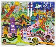 JAMES RIZZI : EVERYONE WANTS TO LIVE HERE(BASIC), 1995, 24.7 x 30.2 cm, 3D SILKSCREEN