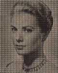 KIM DONG YOO : GRACE KELLY VS FRANK SINATRA, 2009, 227 x 182 cm, 89 3/8 x 71 5/8 in., oil on canvas