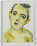 KIM McCARTY : UNTITLED BOY, YELLOW, 2003, 36.8 x 27.9 cm, 14 1/2 x 11 in., watercolor on paper