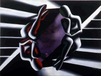 MARK KOSTABI : OPEN SESAMI, 1981, 92 x 123 cm, oil on canvas