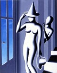 MARK KOSTABI : PRESUMED INNOCENT, 1990, 91 x 71 cm, 78 x 31 in., oil on canvas