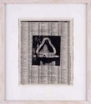 MIKE BIDLO : UNTITLED, 1998, 27 x 22 cm, 10 5/8 x 8 5/8 in., print on page from telephone directory