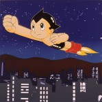 RUPERT J. SMITH : JAPAN PROJECT,HOMAGE TO ANDY WARHOL / ASTROBOY, 1989, 91.5 x 91.5 cm, screenprint on paper
