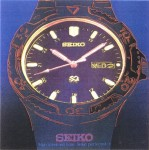 RUPERT J. SMITH : JAPAN PROJECT, HOMAGE TO ANDY WARHOL / SEIKO-SPORTSWATCH, 1989, 91.5 x 91.5 cm, screenprint on paper