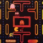 RUPERT J. SMITH : JAPAN PROJECT, HOMAGE TO ANDY WARHOL / NAMCO-PACMAN, 1989, 91.5 x 91.5 cm, screenprint on paper