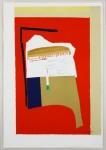 ROBERT MOTHERWELL : AFRICA - LA FRANCE VARIATIONS I, 1983, 64/70, 117.5 x 81.6 cm, 46 1/4 x 32 in., lithograph