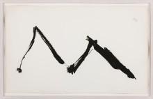 ROBERT MOTHERWELL : DANCE II, 1978, 22/30, 64.8 x 104.1 cm, 25 1/2 x 41 in., etching