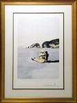SALVADOR DALI : AFTER SALVADOR DALI- L'ADOLESCENCE, 1982, ED15/133, 76 x 57 cm, 29 7/8 x 22 1/2 in., color etching on japon nacré